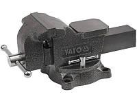 Тиски поворотные слесарные 150мм Yato YT-6503