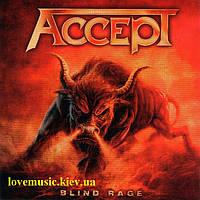 Музичний сд диск ACCEPT Blind rage (2014) (audio cd)