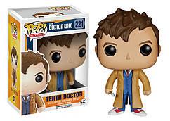 Фигурка Десятый Доктор Tenth Doctor Доктор Кто Doctor Who Funko Pop DW 221