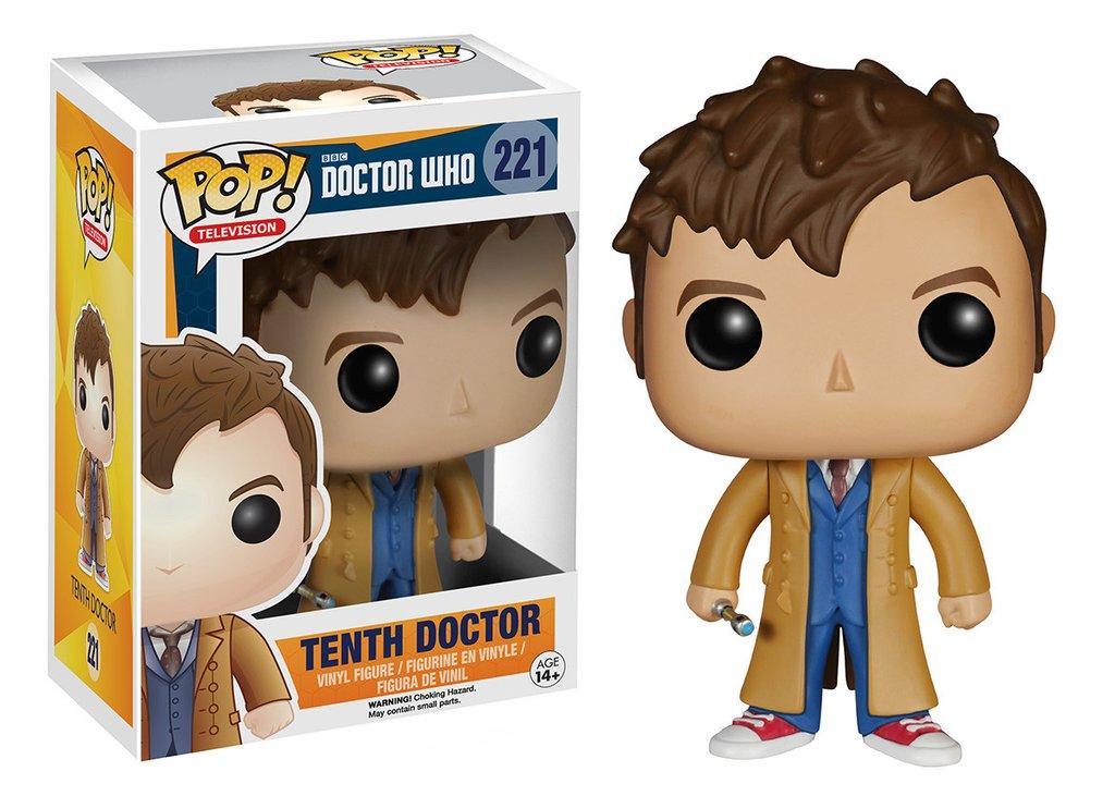 Фигурка Десятый Доктор Tenth Doctor Доктор Кто Doctor Who Funko Pop