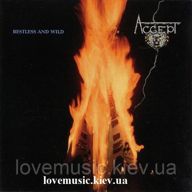 Музичний сд диск ACCEPT Restless and wild (2005) (audio cd)