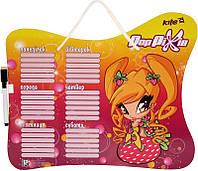 Доска с расписанием уроков + маркер, Pop Pixie  PP14-145K