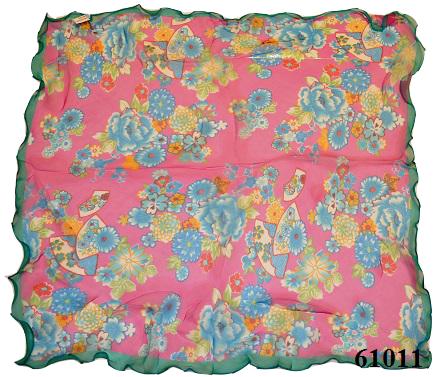 Нежный шейный платок 60*60  (61011) 3