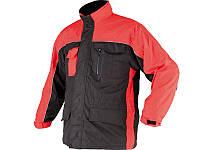 Рабочая утеплённая куртка DORRA с флисовой подкладкой для защиты от холода и влаги размер L Yato YT-80382