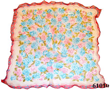 Нежный шейный платок 60*60  (61010) 3