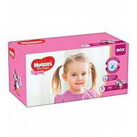 Huggies Ultra Comfort 5 (112шт.)12-22кг. для девочек  (Хаггис Ультра Комфорт)