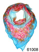 Нежный шейный платок 60*60  (61008), фото 1
