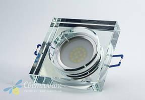 Cветильник точечный встраиваемый Feron 8180-2 под лампу MR16 прозрачный, фото 2