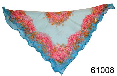 Нежный шейный платок 60*60  (61008) 2