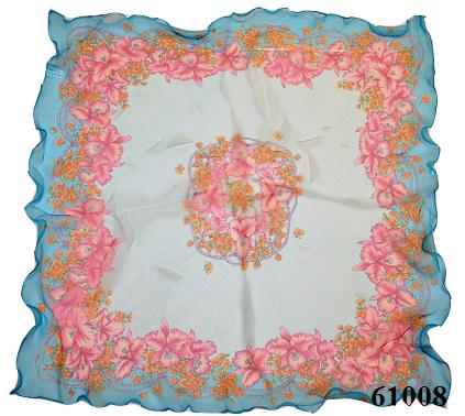 Нежный шейный платок 60*60  (61008) 3