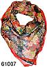 Нежный шейный платок 60*60  (61007)