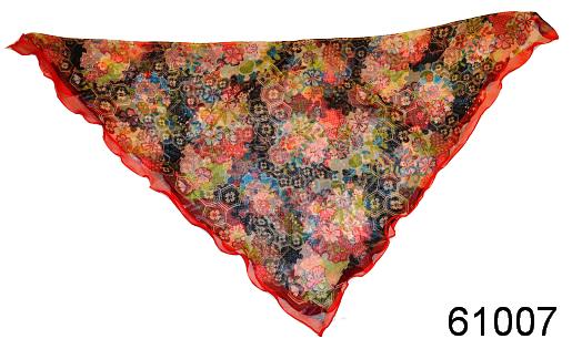 Нежный шейный платок 60*60  (61007) 2