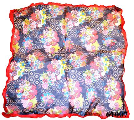 Нежный шейный платок 60*60  (61007) 3