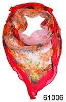 Нежный шейный платок 60*60  (61006), фото 1