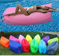 Надувной лежак кресло мешок Ламзак (Lamzak)