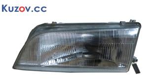 Фара Nissan Maxima A32 95-00 левая (Depo) механич., пластмас. рассеиватель (рифленый) 2606047U25