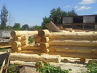 "Баня ""Дикий Сруб"" в НАЛИЧИИ. 32м2, (5м*6,5м), Диаметр 30+, фото 1"