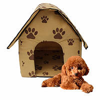 Переносная мягкая будка домик для собак Portable Dog House
