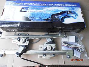 Стеклоподъёмники автомобильные электрические реечные  на автомобили ВАЗ 2110-2112, фото 2