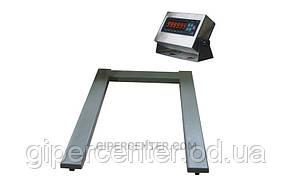 Паллетные весы ЗЕВС ВПЕ500-4(H1208) А12ЕSS, до 500 кг
