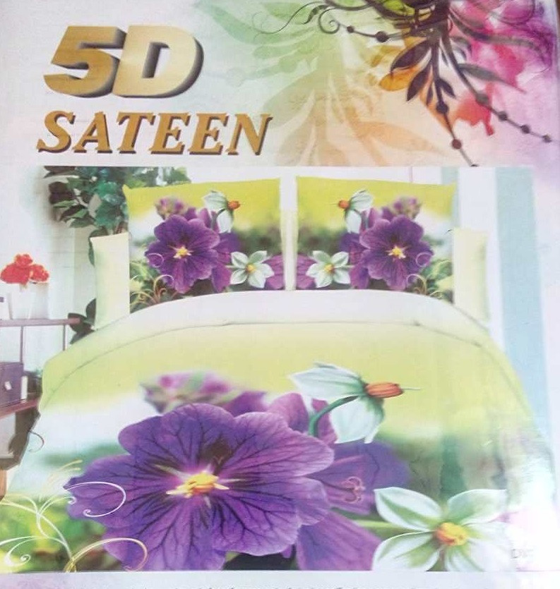 Красивое постельное белье 3D Турция сатин