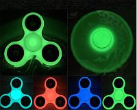 Спиннер фосфорный с подшипниками светящийся Антистресс Hand Spinner