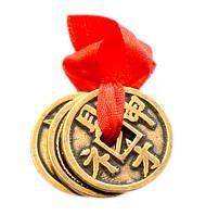 Китайские Монетки Счастья символ достатка, благополучия, богатства