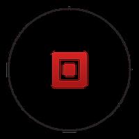 Наклейка (стикер) круглая 100х100мм 500 шт