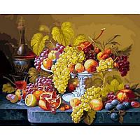 Картины по номерам 40 х 50 см. Роскошный виноград