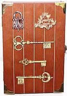 Ключница деревянная настенная, классическая, фото 1