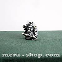 Серебряная бусина Японский Самурай