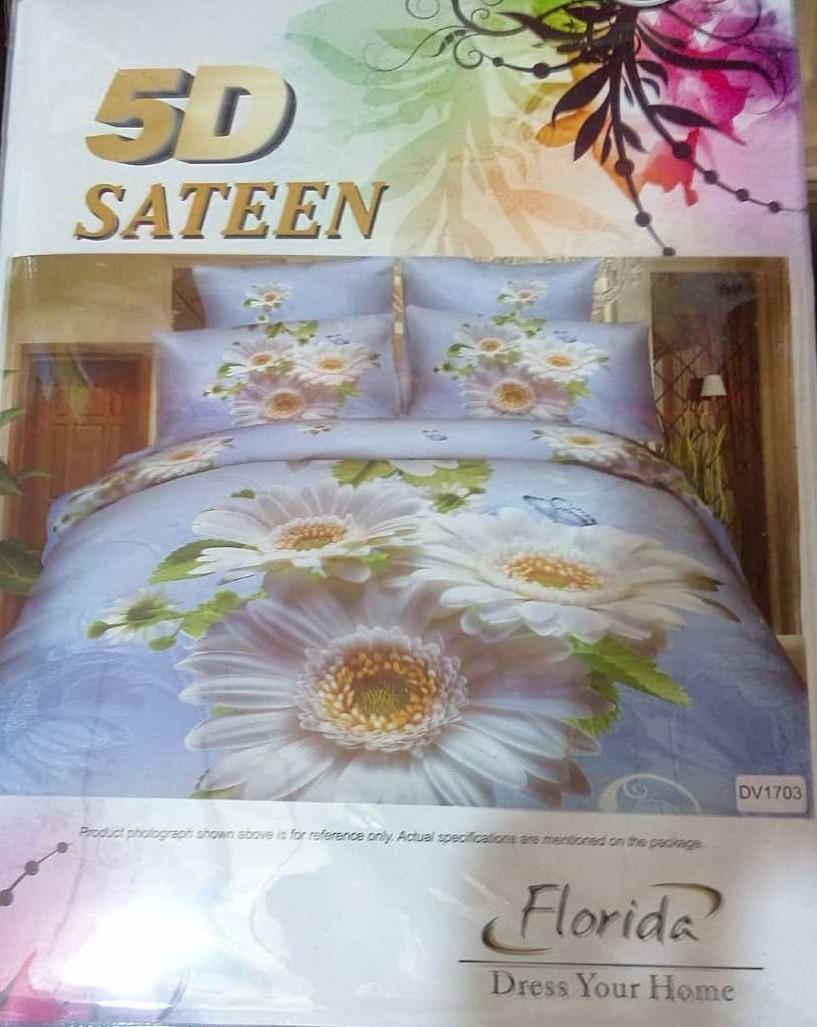 Красивое постельное бельё Турция 3D сатин