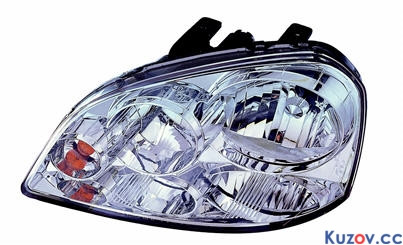 Фара Chevrolet Lacetti 03-12 левая (Depo) электрич. 222-1114L-LD-EM 96458809