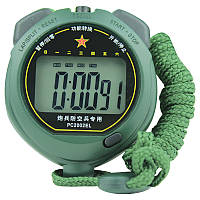 Секундомер PC2002EL бол.цифры, однострочный, пластик, память 1, 4-ех кноп., подсветка, влагостойкий.