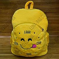 Мягкий рюкзак Smile Clock Желтый, фото 1