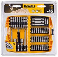 Набор бит и держателей Dewalt 45 элементов DT71518