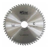 Пильный диск по алюминию Werk (210*30*48Т)