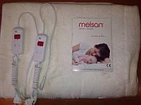 Электропростынь двухспальная Melsan Comfort MP103 04 140х160 cм; 2x60W; ворсистая поверхнос;два пульта, Турция