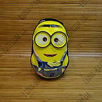 Рюкзак детский с панцирем Миньон Minion 3 Цвета Серый, фото 1