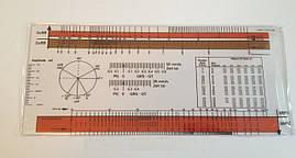 Линейка для оценки электрокардиограммы (ЭКГ-линейка), Германия