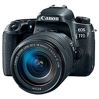 Фотоапарат Canon EOS 77D kit (18-135) nano USM Black