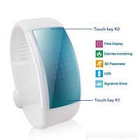 Браслет здоровья с 3D шагомер, LCD дисплеем, счетчиком калорий, контроль сна, USB флешка 8 Гб