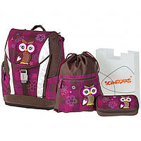 "Ранец Schneiders 78405-051 ""Olivia The Owl"" рюкзак+сумка для обуви+пенал под наполнение+пенал"