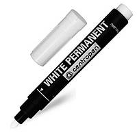 Маркеры перманентные Centropen 8586/11 белый 2,5 мм Permanent White