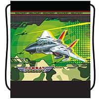 "Сумка для обуви CF17 CF85711 синий 40х33см, ""Aircraft"", полиэстер"