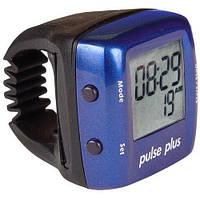 Пульсометр - кольцо на палец Pulse Plus iD503 цвет синий и красный