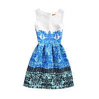 Платье с узором РМ7099