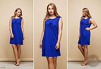 Платье женское летнее Декор Цветы