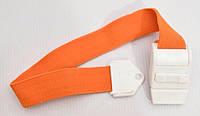 Жгут венозный кровоостанавливающий с застежкой, оранжевый, Турция