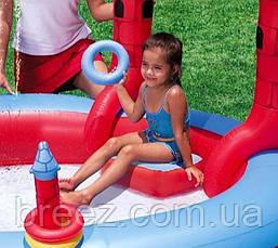 Детский надувной центр BestWay 53037 Замок Дракона 221 х 150 см , фото 2